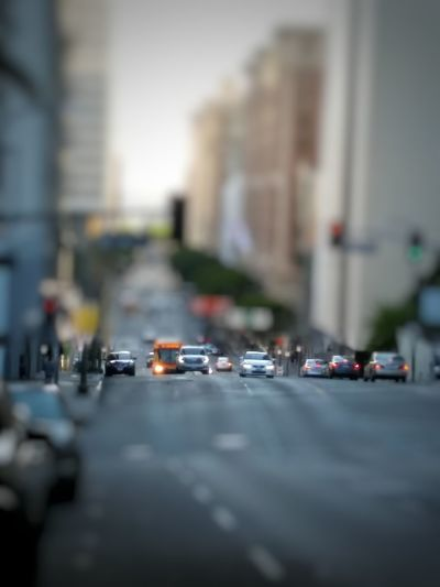 This is an edit of a picture I just uploaded a few days ago, of Olive St. and 4th St. in Downtown Los Angeles . I applied a Blur effect to simulate Tilt And Shift , a fascinating result when given the right angle and distance, makes the subject of your picture look like you've just shot a tabletop miniature. This is one of a couple different options for a tilt and shift image. I will upload my second attempt after this one. Tiltshift Tilt-shift Tilt Shift Effect Tilt Shift Tiltandshift Tilt Shift Tilt And Shift Tilt&Shift