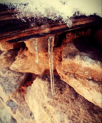 Hurry up Spring!!! No People Nature Close-up Day Water Outdoors Cold Temperature Frozen Winter Icicle Textured