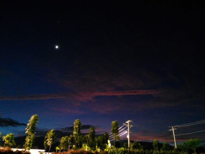 The end of a colorful twilight ~ Landscape Beauty In Nature Outdoors Scenics Fresh On Eyeem  DonaldNoolPhotography Night Sky EyeEmNewHere First Eyeem Photo Dramatic Sky Cloudscape Kiminonawafeels Dark Photography Light And Shadow EyeEmNewHere