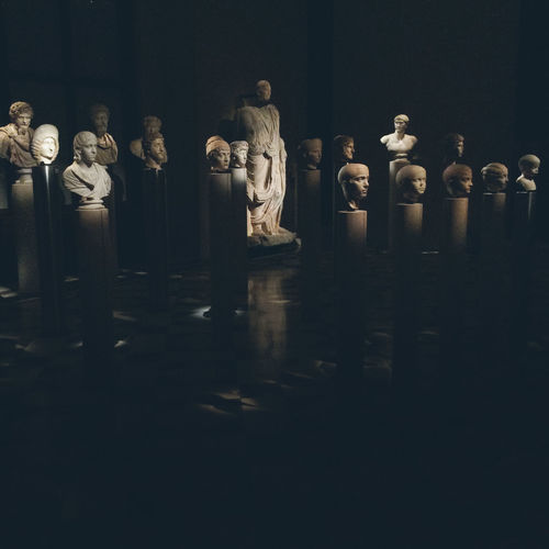 History of arts museum in Vienna Art And Craft Austria History Of Arts Museum Tourist Attraction  Vienna Art Art And Craft Arts Culture And Entertainment Belief Creativity History Human Representation In A Row Large Group Of Objects Museum No People Sculpture Statue The Past Tourism