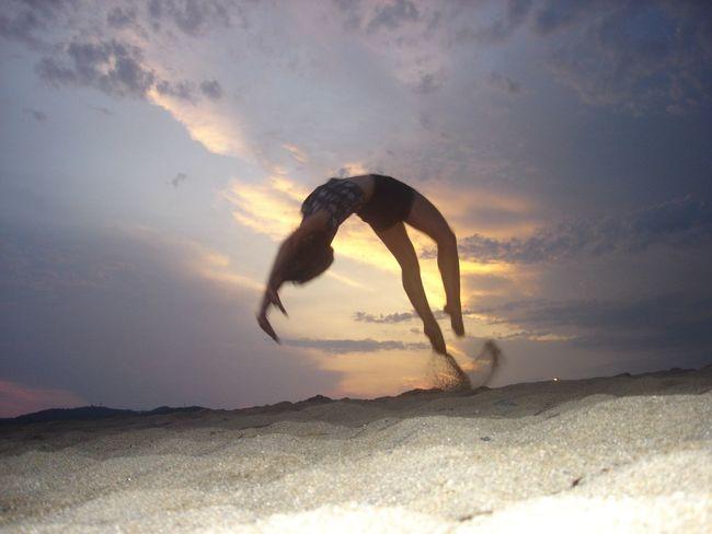 Portrait model beauty Sunset that's me ☺️
