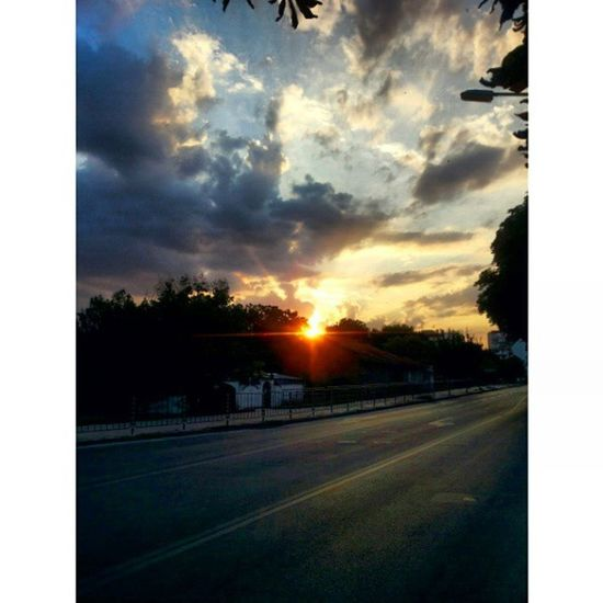 The beautiful sunset in Razgrad. Nofilter Sunset Beautiful Makesyousmile