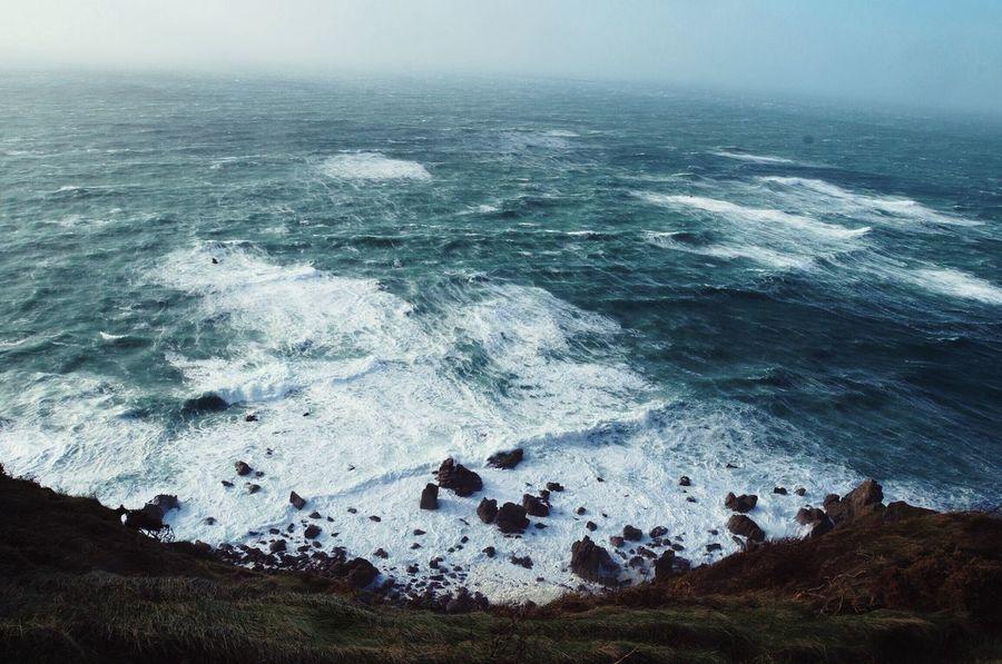 Storm Sea Waves Tempête Mer Vagues