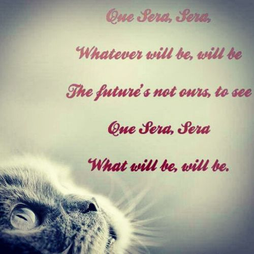 QueSera WhatWillBe Destiny Future song life