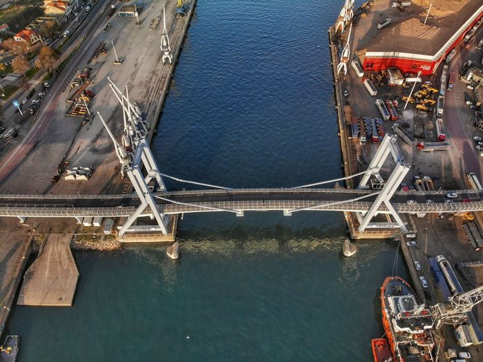 View from the top of the bridge DJI X Eyeem DJI Mavic Air Drone Photograph High Angle View Architecture Built Structure Water No People Nature Aerial View Travel Destinations Day Transportation Bridge - Man Made Structure Connection Outdoors Bridge City Building Exterior Holiday Cityscape