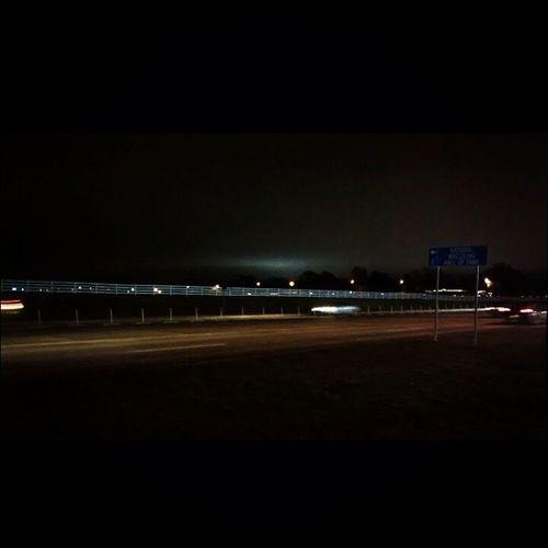 Street Road Lights Km sky Night Proyecta100KatOSUFall14