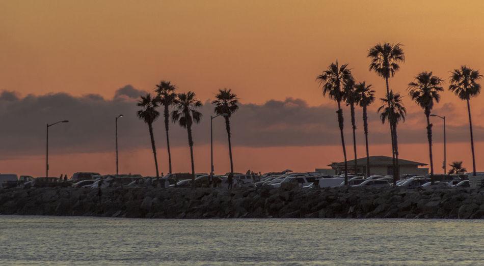 Sunset, San
