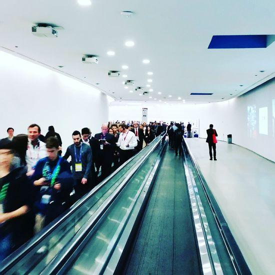 Der Mobile World Congress 2016 ist zu Ende. MWC16 Networking Barcelona Moobilux