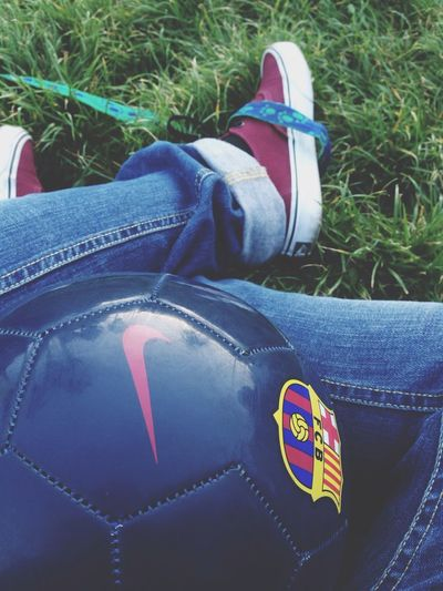 Barça Vans Off The Wall Ball Blue Jeans ❤️❤️❤️