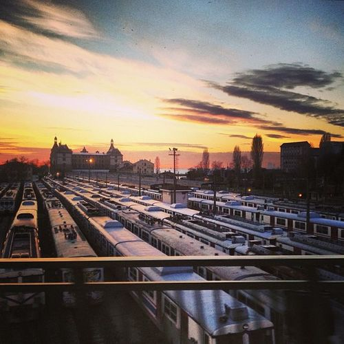 Photolife Istanbulove Haydarpasa Train istanbul love sunset station clouds colors enjoy peace