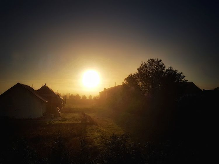 https://youtu.be/QcbrZ29ckJA ☕☕🌞🌞 Have A Nice Day♥ Samsung S8 This Week On Eyeem In My Backyard My Picture 2017 First Eyeem Photo EyeEm Best Shots - Sunsets + Sunrise Sunset Sunrise Sunlight Sunset Outdoors Sun No People Sunlight Landscape Tranquility Nature Fog Tree Scenics Architecture Beauty In Nature Day Sky Focus On Foreground