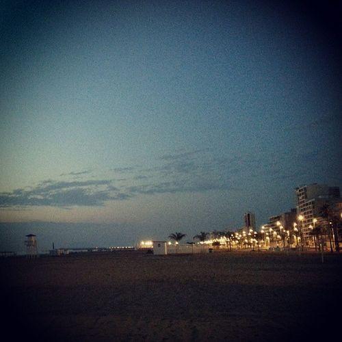 Amanecer València Playa Gandia Valenciaspain Valencia, Spain Lovespain