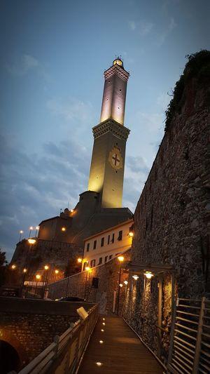 Illuminated Night Architecture No People Sky Lanterna Di Genova Genova Night Cityscape City Nightlife 3XPSUnity 3XPUnity Tourism