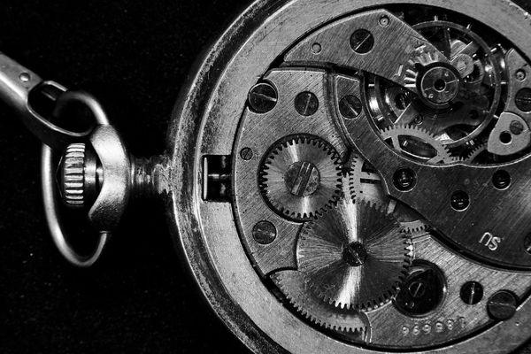 mechanism counting my moments of life Spring Pendulum Ticker Age ERA Countdown Count Gear Macro Retro Clockwork Mechanism Clock Time