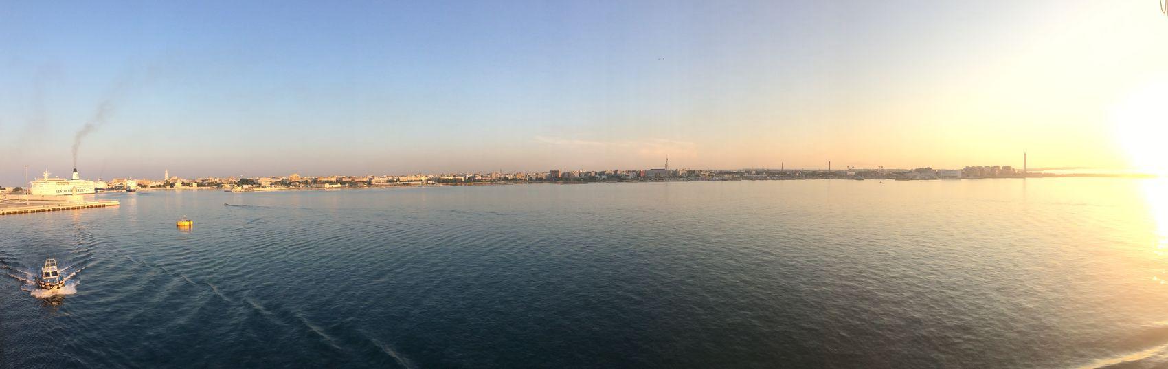 Leaving Bari 😉 CORFU ISLAND here we come 😍