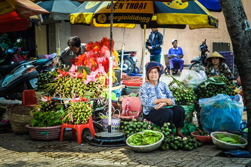 Asian  Vietnamese Seller Oldlady