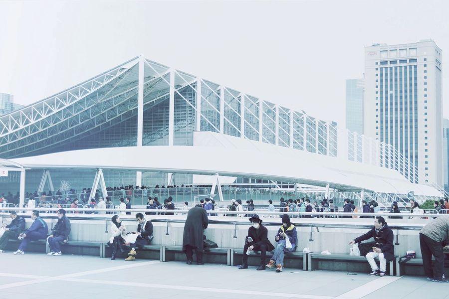 Makuhari Messe. Classic Tokyo Architecture Fumihiko Maki クラシック Design Tokyotecture