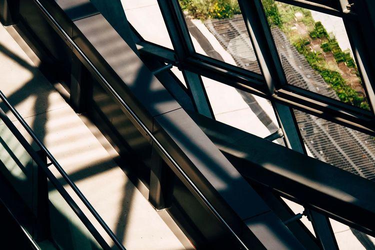 Musée Des Confluences Lyon Window Transportation Day Shadow Sunlight No People Architecture The Graphic City