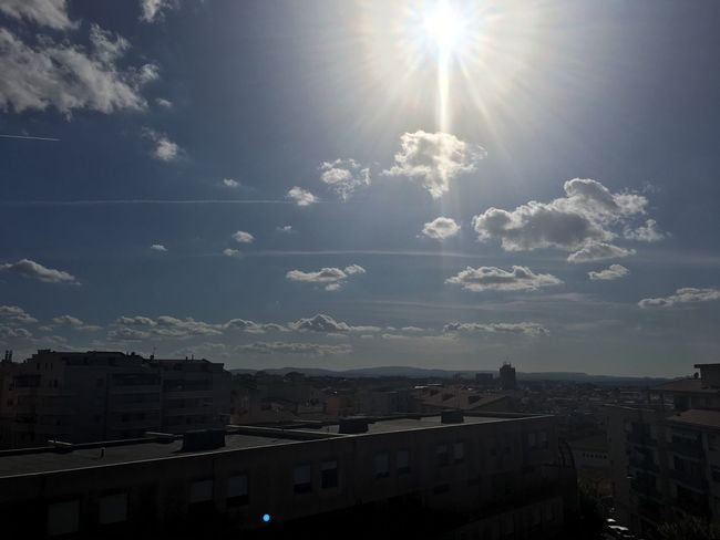 Landscape Sky Sun Cityscape City Sunbeam