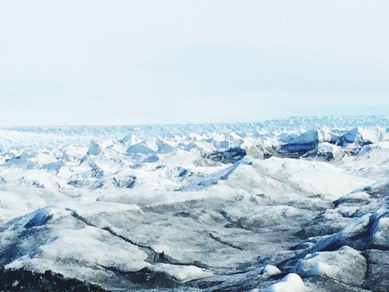 Indland Ice Greenland Ice Desert Ilulissat Icefjord Ice Mountain