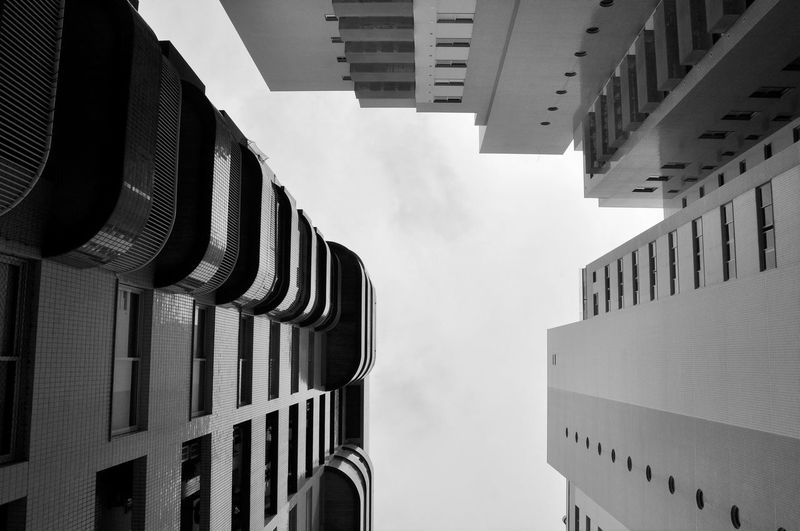 Architecture Building Exterior Built Structure Building City No People Sky Low Angle View Clear Sky Skyscraper Residential District Outdoors Directly Below