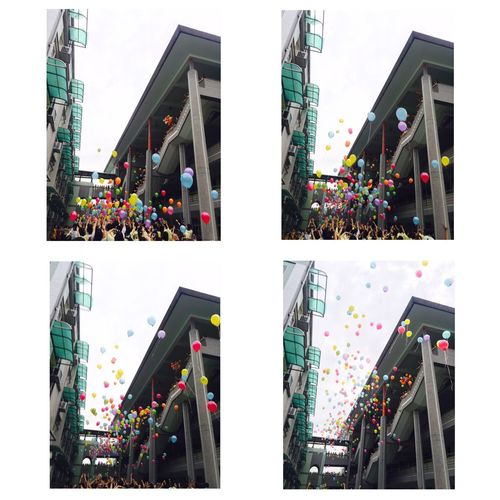 Balloons In The Sky Graduation 2016.06.13