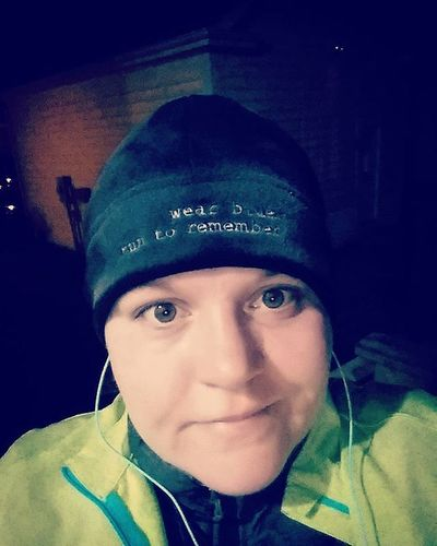 It was cold and dark but worth it! 3 miles down for Sgt. Ryan C. Adams Wbr2r Runinblue Purposefulmiles Forthefamilies Forthefallen Running Fortheloveofrunning Runningchangedmylife