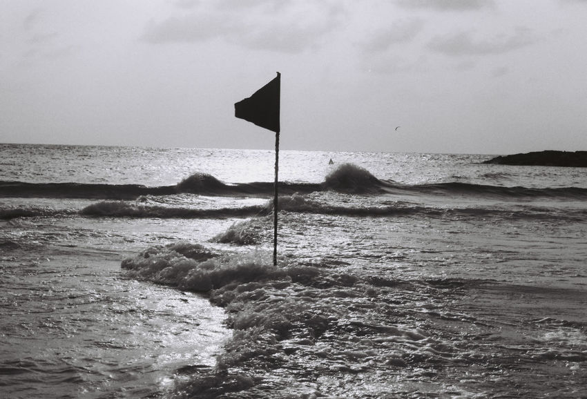 a day at the beach Film Photography Filmisnotdead Black And White Blackandwhite Sea Water Sky Land Horizon Beauty In Nature Horizon Over Water Motion Scenics - Nature Nature Outdoors Beach Wave Tranquility Tranquil Scene Day No People Sport Aquatic Sport Wind Breaking Flowing Water