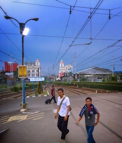 People Streetphotography Indonesian INDONESIA Railway Cross Eye4photography  Makemoments ShotOniPhone6 Iphonephotography Journey IPhoneography