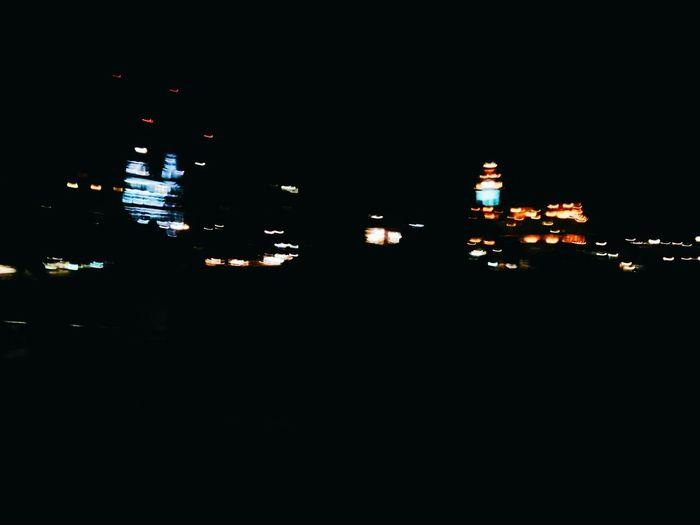 City Lights Edinburgh Scotland Uk Class Trip Nofocus  Night Lights Glitch