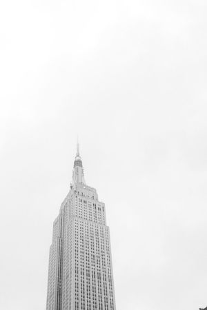 Empire state Architecture Built Structure Building Exterior City Skyscraper Low Angle View Sky Tower High Section Travel Destinations Modern Tall Capital Cities  Outdoors Architectural Feature City Life New York