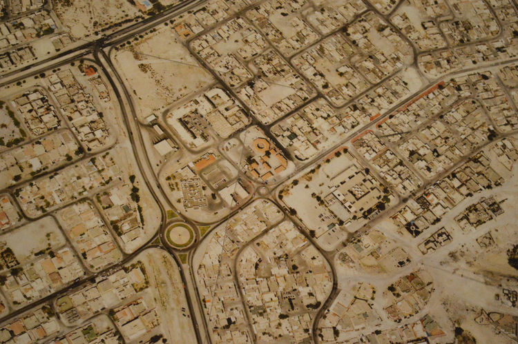 Map Aerila Views Ancient Civilization Architecture Desserted Buildings Dry Land Dry Weather High Angle View Roads And Highways Lost In The Landscape