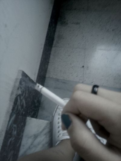"Me And My Love! ""Fumare è indispensabile se non si ha niente da baciare"" Smoking Anellofigo I'm Loving It."