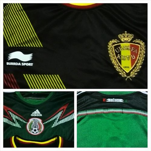 Ok jersy Olabola Mexico Mexicana Federacionmexicana belgium fifaworldcup worldcup world cup Brazil brasil june 2014 country outfit belgiumaway mexicohome