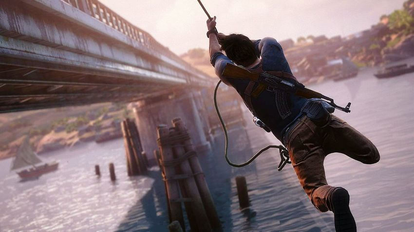 Check This Out Action Shot  Uncharted Uncharted 4 Nathan Drake Drake  Videogames Games Game Time!