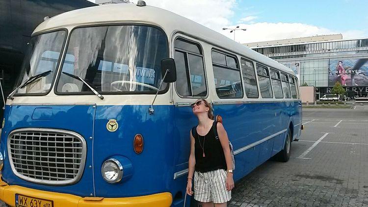 Poland Pologne Bus Retro