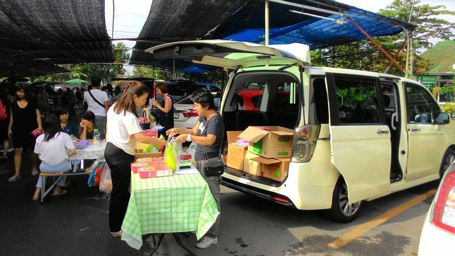 Buy Car Festival Season Market Move Openback People Sale Shop Shopping