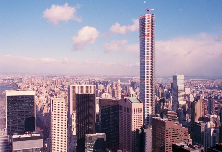 2015/01 — NYC, Top Of The Rock Architecture Central Park City Cityscape Clouds Film Film Photography Landscape Light Leak Lightleak Manhattan New York No People NYC Outdoors Skyline Skyscraper Skyscrapers Sunlight