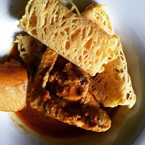 Food And Drink Close-up Freshness Roti Canai And Curries
