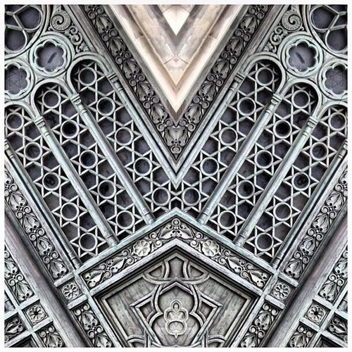 Two Is Better Than One Mirrored Ornate Door Berlin Synagogue