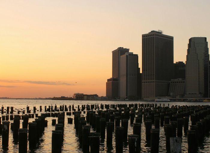 Brooklyn Bridge Park - Pier 1, Brooklyn, New York Lower Manhattan From Brooklyn To Manhattan NYC
