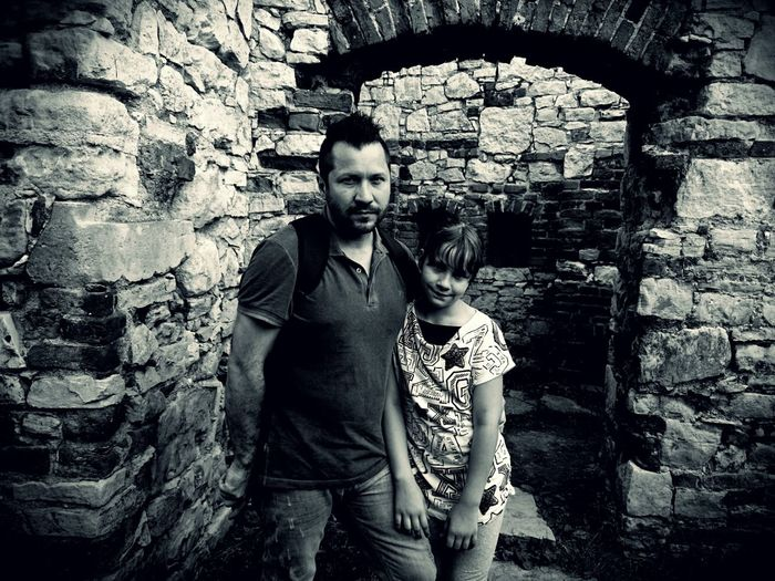 Me and my lovely daughter :-* Monochrome Portrait Black And White Photography People