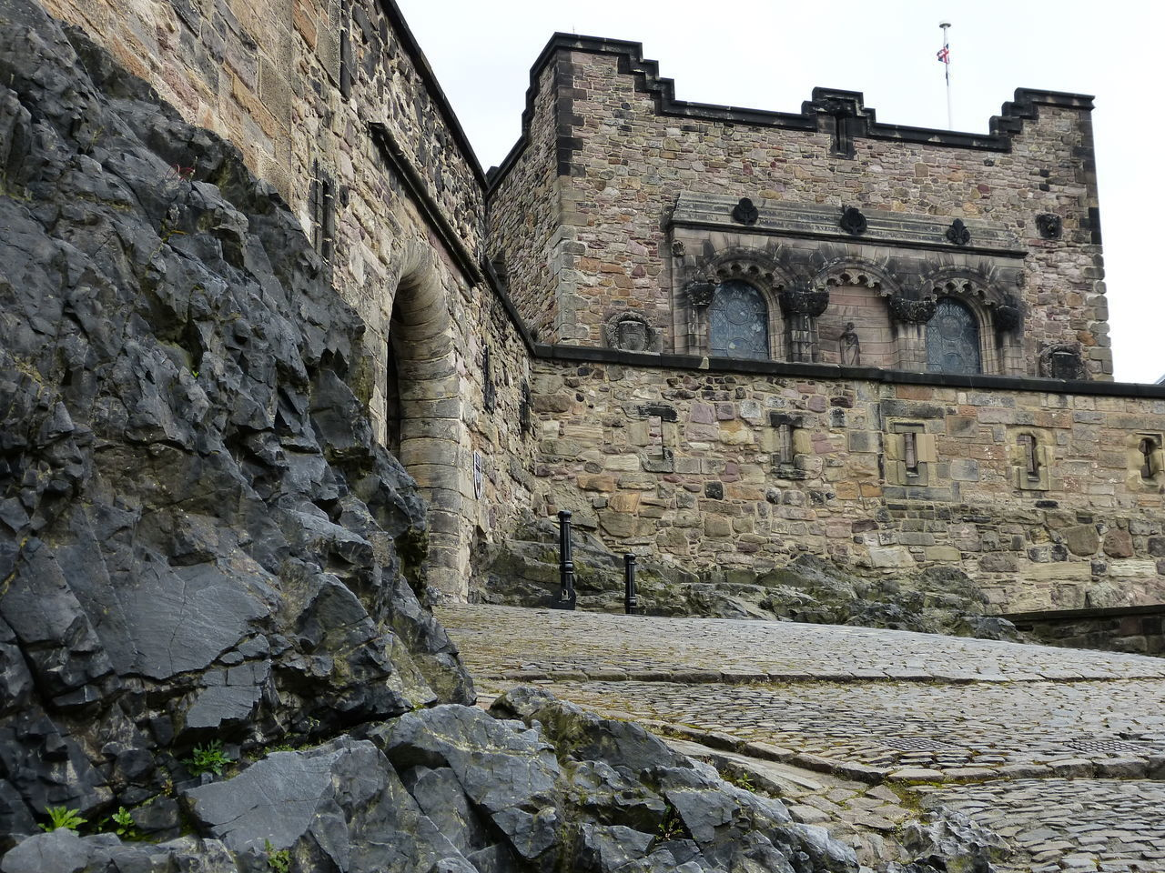 architecture, built structure, building exterior, history, the past, building, old, solid, wall - building feature, wall, low angle view, stone wall, day, no people, nature, outdoors, rock, religion, rock - object, place of worship