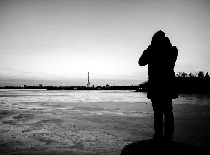 Day 272 - Icy landscape Helsinki Blackandwhite Landscape Ice Lake 365project 365florianmski Day272