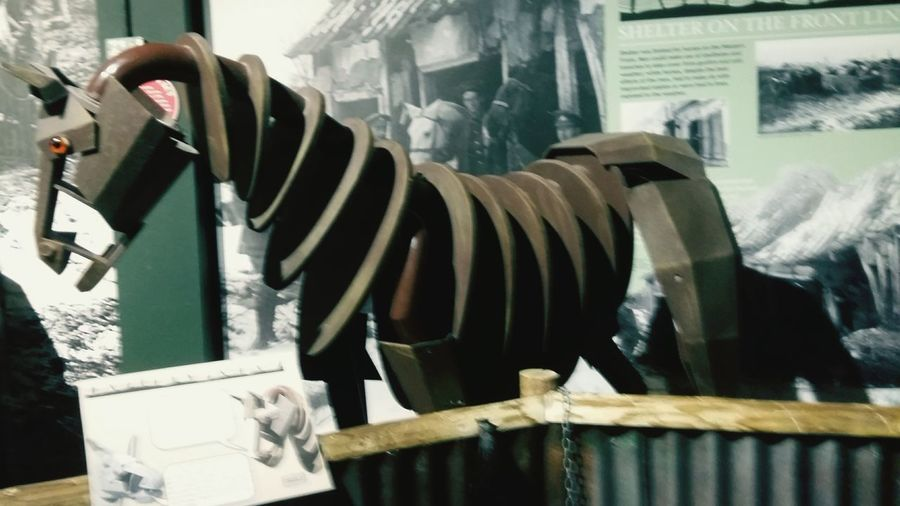 A Wooden War Horse Taken Inside The Tank Museum in the Uk . Featuring No People World War History Weapon Military United Kingdom Tank Museum Dirty History Coming To Life Museum World War 1 Mode Of Transport Daytime Indoors  Texture