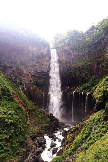 華厳の滝行ってきました。マイナスイオン出まくりです。* ゚ + 。・゚・。・ヽ(*´▽`)ノ EyeEm OneCam Japan Scenery Waterfalls