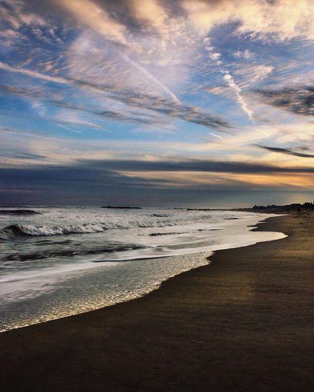 Home is where the ocean waves tumble Thegirlwhowanders Ocean Sunset #sun #clouds #skylovers #sky #nature #beautifulinnature #naturalbeauty #photography #landscape