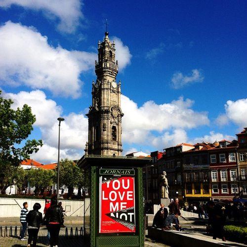 Sunny at last! ☀️☀️☀️☀️ Porto Portugal Igers_porto Sunny Sun Buildings Love_porto Clouds Happy Trip Tourists Travelers Visiting_xleitsa