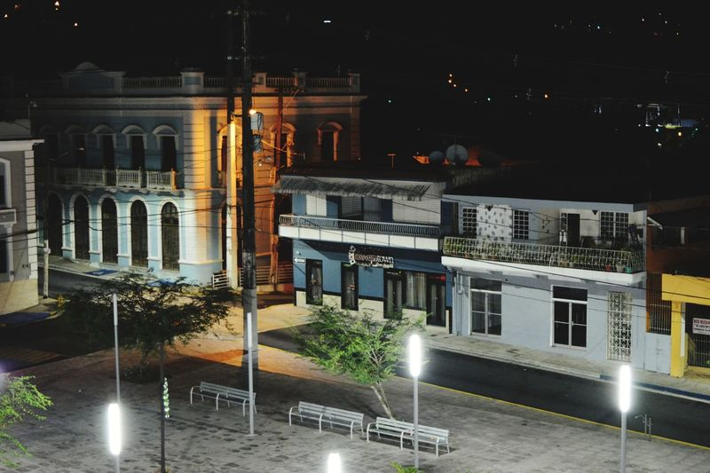 Night Illuminated Architecture Outdoors No People Public Square Ciales PUERTO RICO 🇵🇷 Architecture