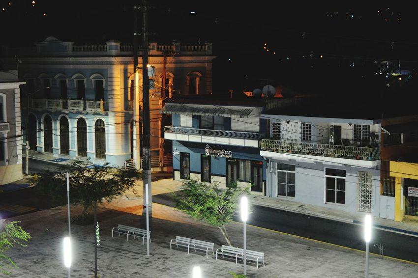 Night Illuminated Architecture Outdoors No People Public Square Ciales PUERTO RICO 🇵🇷 Architecture